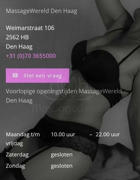 Massagewereld Den Haag